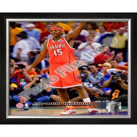 Carmelo Anthony Syracuse University Orangeman Framed Photographic Print Wall Art