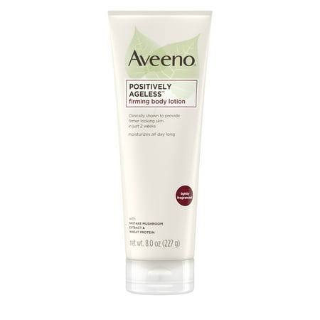 Aveeno Positively Ageless Anti-Aging Firming Body Lotion, 8 oz