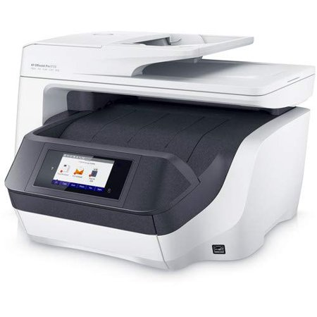 Hewlett-Packard  OfficeJet Pro 8720 All-in-One Inkjet Printer, White, Up to 24 PPM Black, Up to 20 PPM Color (M9L75A) ()