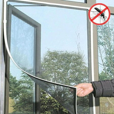 DIY Stealth Window Screen Insect Fly Bug Mosquito Mesh Screen Window Netting black (Insect Mesh Netting)