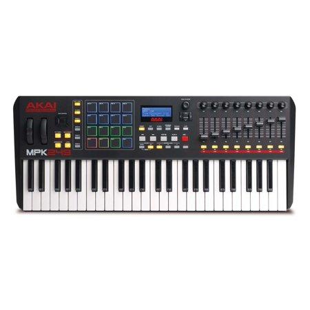 Akai 42 (Akai MPK249 49-Key USB-MIDI Semiweighted Keyboard Controller )