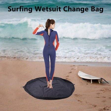 1 pc Portable Durable Waterproof Surf Wetsuit Changing Mat Storage Pouch Dry Drawstring