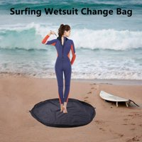 1 pc Portable Durable Waterproof Surf Wetsuit Changing Mat Storage Pouch Dry Drawstring Bag