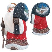 G Debrekht Masterpiece Merry Yuletide Wanderer Figurine