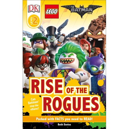 DK Readers L2: THE LEGO® BATMAN MOVIE Rise of the Rogues : Can Batman Stop the Villains? - Batman's Villains