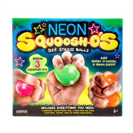 Neon SQUOOSH-O'S: DIY Stress Ball Kit by Horizon Group USA - Diy Headband Kit