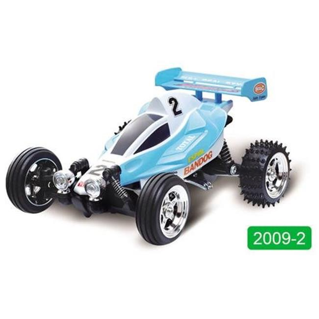 Microgear EC10253-2XX Radio Controlled RC Mini Buggy Blue Green