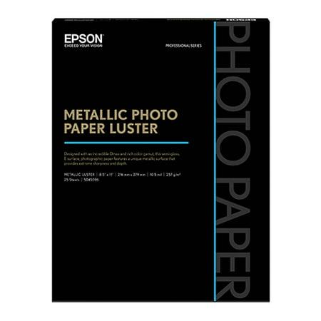 Epson S045596 Photo Paper Luster Metallic Photo Paper Luster