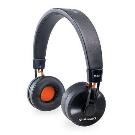 M-Audio On-Ear Monitoring Headphones Black M40