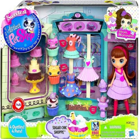 LPS Littlest Pet Shop Blythe Doll Sweetest Sugar Chic Sweet Treats Shoppe Toy Playset By Hasbro