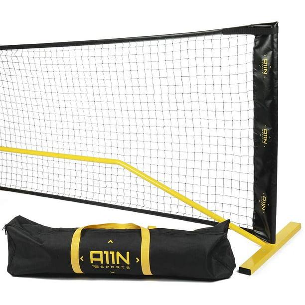 A11n Portable Pickleball Net System 22ft Regulation Size Net With Carrying Bag Walmart Com Walmart Com