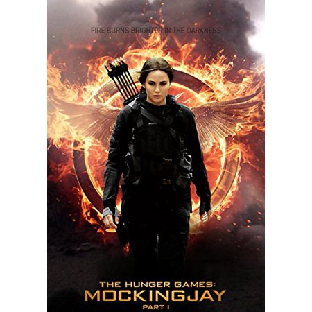 The Hunger Games: Mockingjay Part 1 Katniss Edible Image Cake Topper Decoration Edible Icing Image Cake Topper (1/4 Sheet)