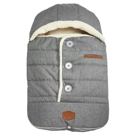 JJ Cole Urban Bundleme, Infant Bundle Bag, Heather Grey, Ages 0-12