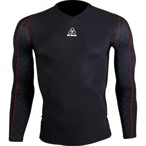 McDavid 8800 Classic Logo Recovery Shirt Black/Black Mtek...