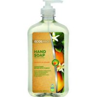 3PK Earth Friendly 9484/6 Hand Soap Organic Lemongrass 17 Oz