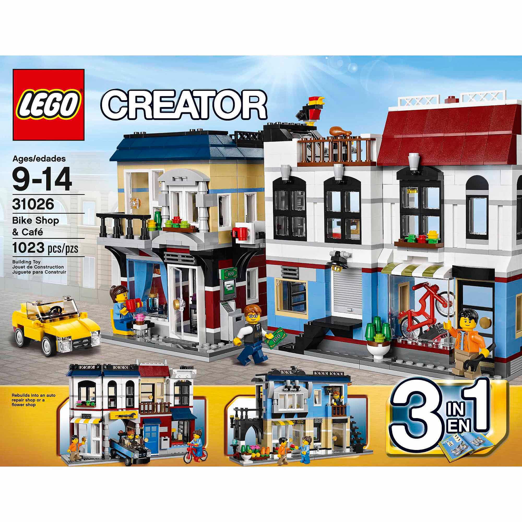 Lego Creator Bike Shop Cafe Walmart