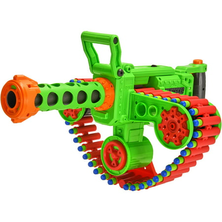 Adventure Force Enforcer Full-Auto Belt Dart Blaster, Green