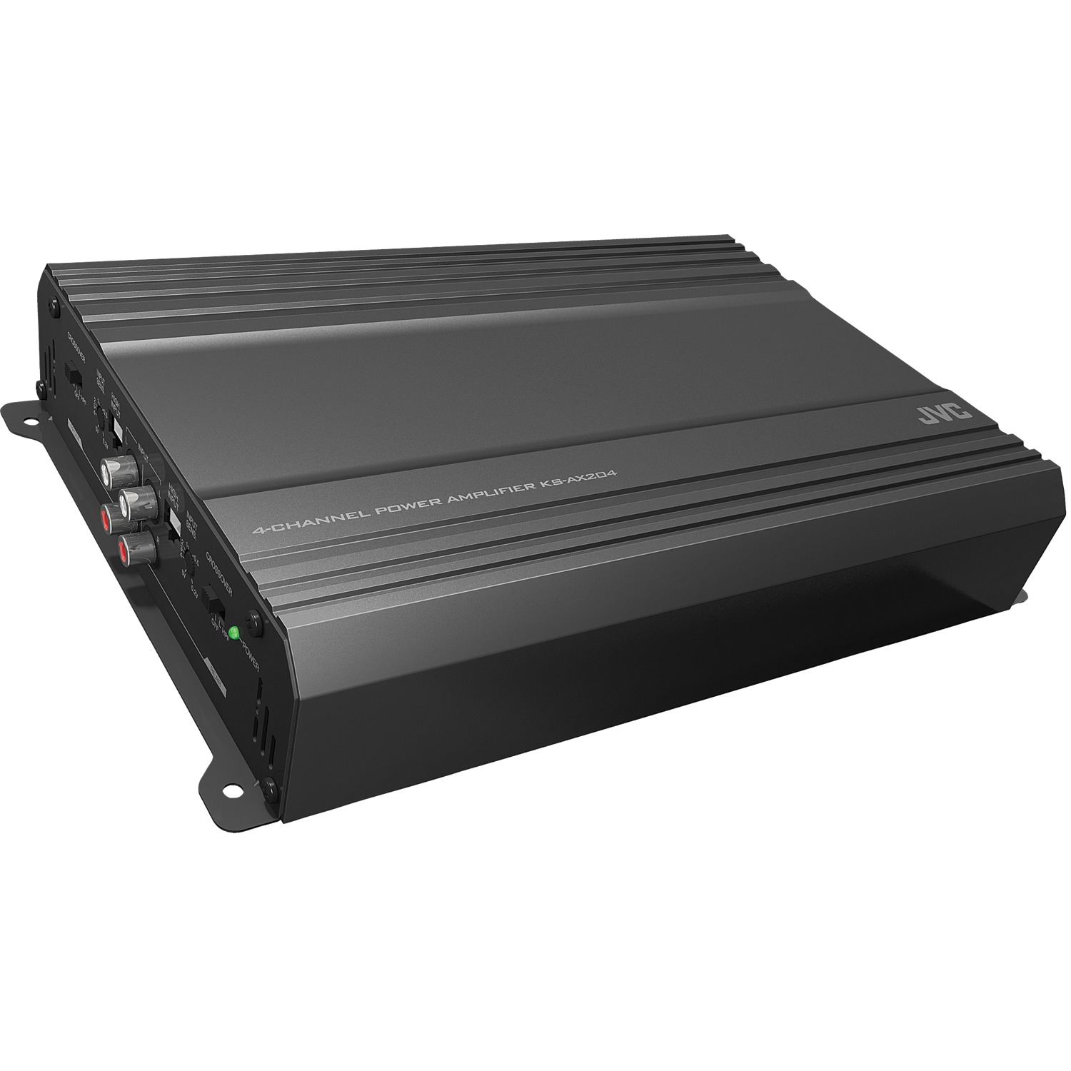 JVC Mobile KS-AX204 AX2 Series Class AB Amp (4 Channels, 600 Watts)