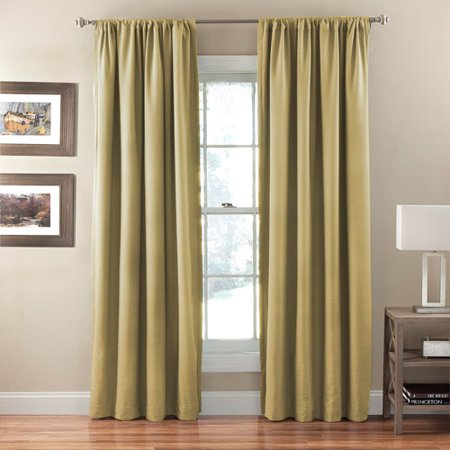 Curtains Ideas black out curtains walmart : Eclipse Corsica Crushed Microfiber Blackout Curtain Panel ...
