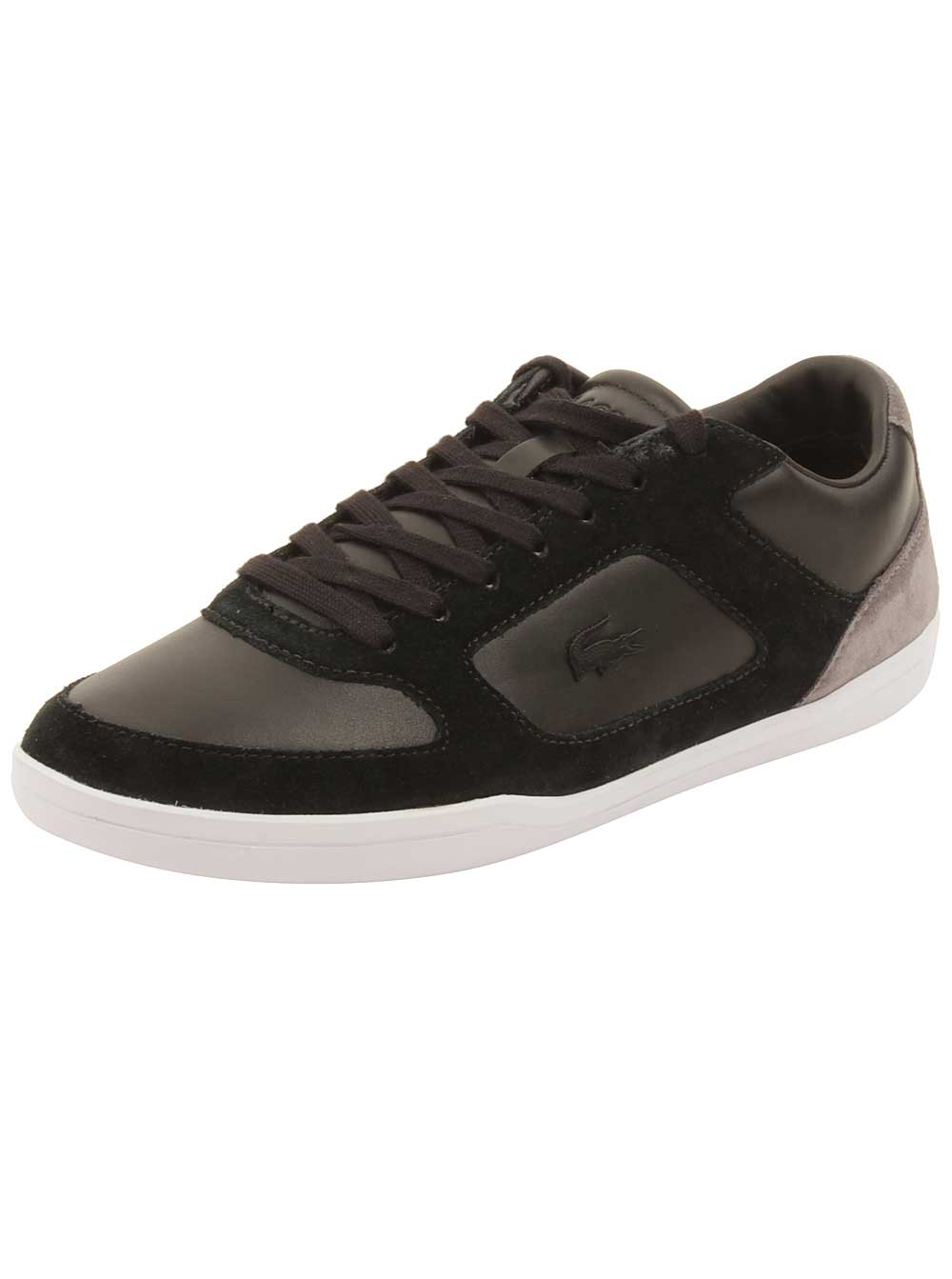Lacoste Mens Court-Minimal 316 Sneakers in Black