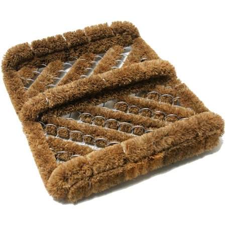 Herringbone Coir Boot Scraper Brush, 2.5