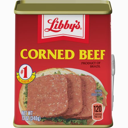 - Libby's Corned Beef, 12 Ounce