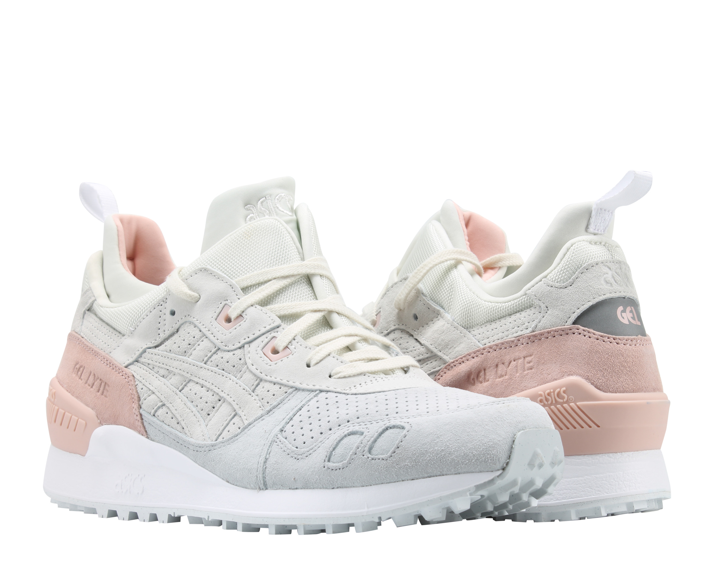 Asics Gel-Lyte MT Cream/Pink Salmon Mid-Cut Men's Running Shoes HL7Z1-0000