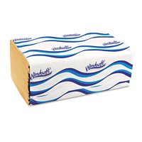 Windsoft Embossed Singlefold Towels, 250 sheets, 16 count