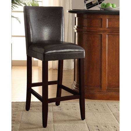 4D Concepts 30-Inch Deluxe Padded Bar Stool - Brown