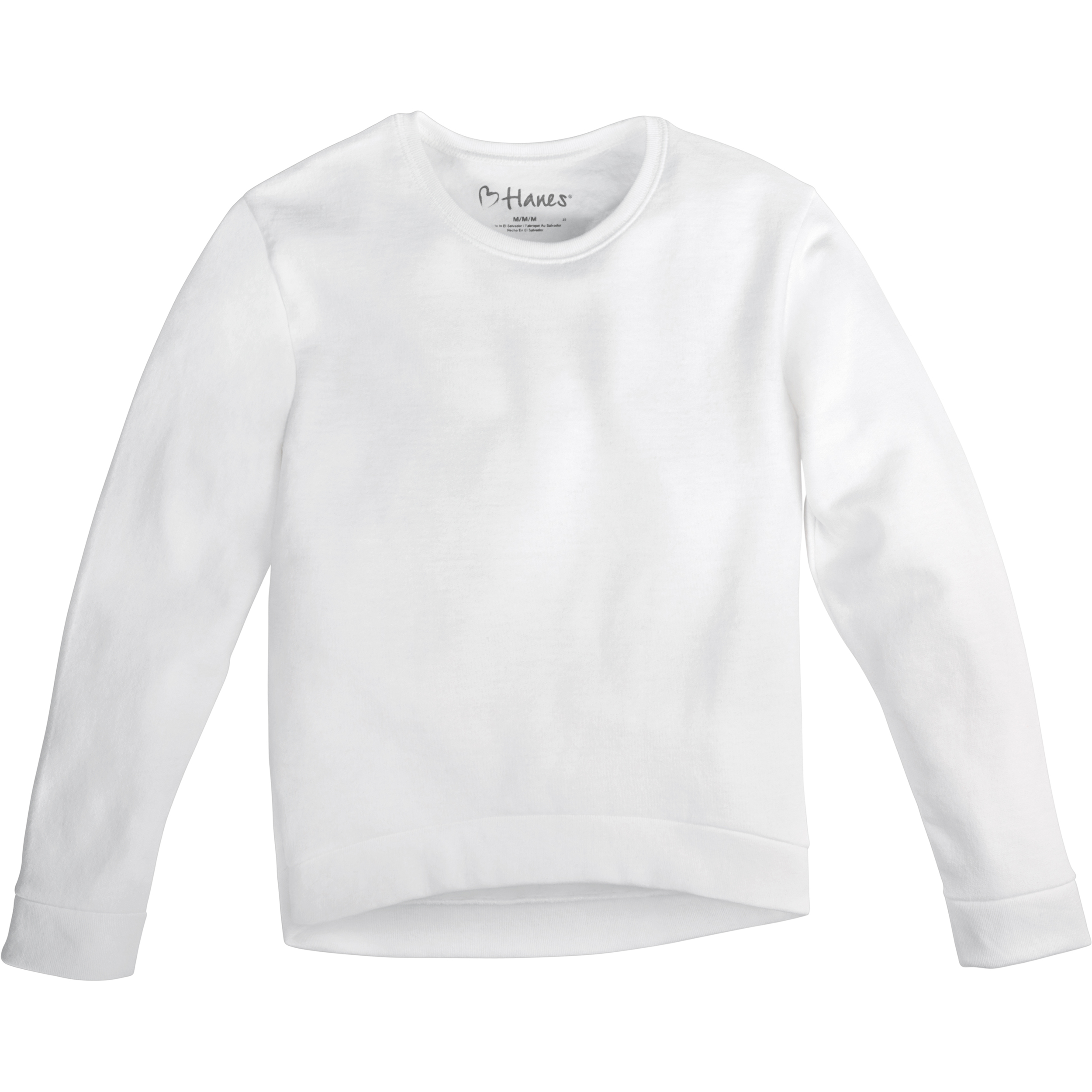 Girls' Fleece High/Low Hem Sweatshirt