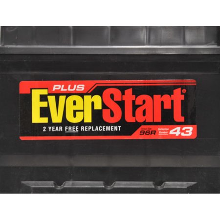 EverStart Plus Automotive Battery Group Size 96R  Walmartcom