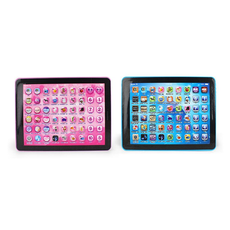 Children Touch Tablet Pad Learning Reading Machine Early Education Machine For Kids Children Educational Learn English Chinese