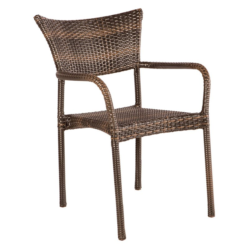 Alfresco Tutto Patio Dining Arm Chairs - Set of 2