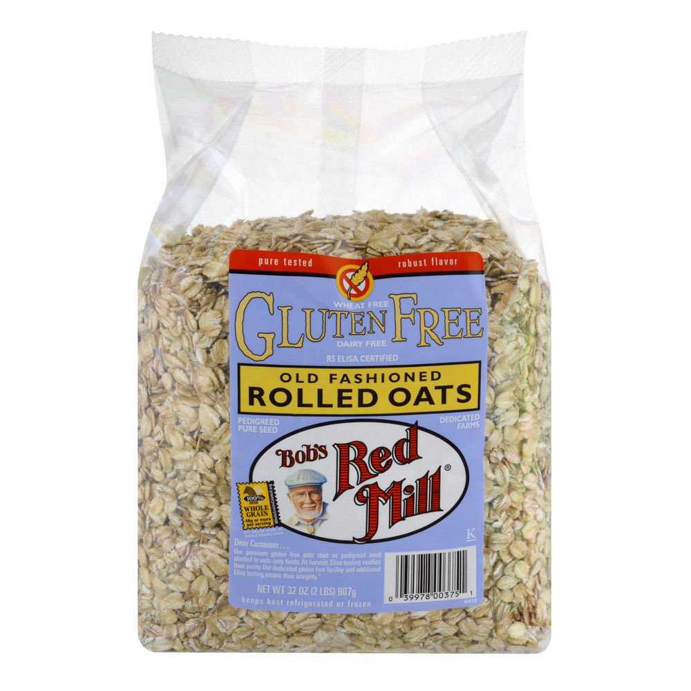 Bob Red Mill's Gluten Free Old Fashioned Rolled Oats, 32.0 OZ