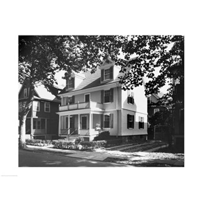 PVT/Superstock SAL25544935 Birthplace of John F. Kennedy  Brookline  Massachusetts  USA -24 x 18- Poster Print - image 1 of 1