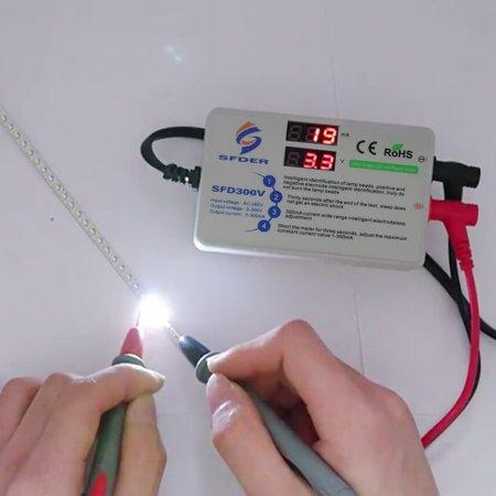 Voltage Current Test LED Backlight Tester Screen LED LCD TV Back Light Tester Meter Lamp Beads Light Board Test Strip Bead Diode Testing Tool - image 6 of 7