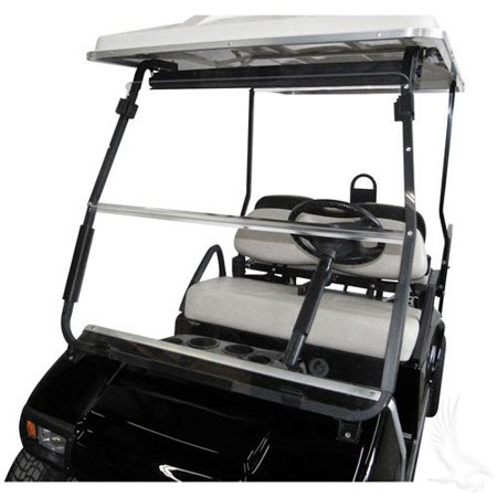 WINDSHIELD, Fits Club Car DS 2000.5 to Current Golf Cart, CLEAR (Windshield For Golf Cart Club Car)