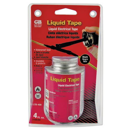 GB-GARDNER BENDER LTB-400 BLACK LIQUID ELECTRICAL TAPE