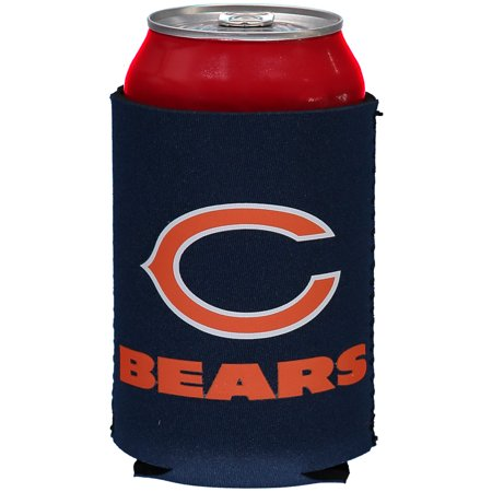 Chicago Bears Navy Blue Collapsible Can Cooler - No (Bears Collapsible)