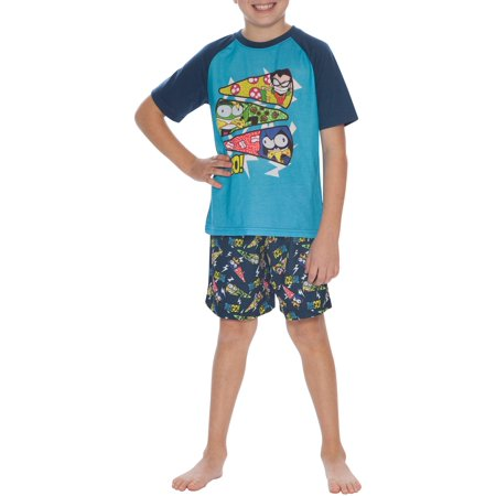 Boy's Teen Titans 2 Piece Pajama Short Sleep Set (Big Boys & Little Boys)