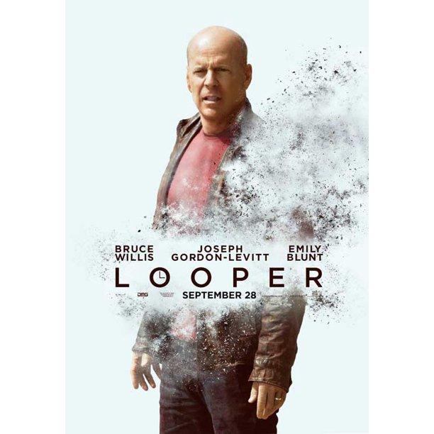 Looper 2012 11x17 Movie Poster Walmart Com Walmart Com