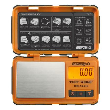 Truweigh Tuff-Weigh Mini Scale - 100g x 0.01g /
