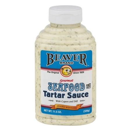 (2 Pack) Beaver Brand Gourmet Seafood Tartar Sauce, 11.5 (Best Store Bought Tartar Sauce)