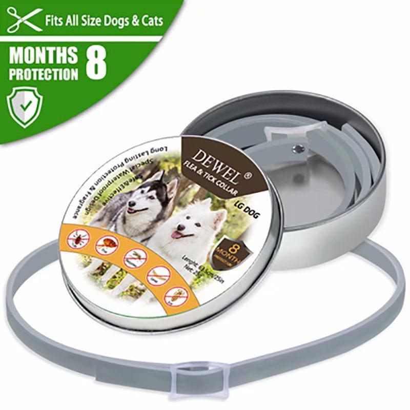 Victsing Dewel Dog Collar Anti Flea Mosquitoes Ticks