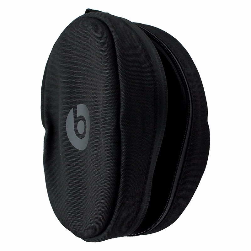 Beats by Dre Soft Zipper Pouch Made For Beats Solo Headphones -Black/Black (Refurbished)
