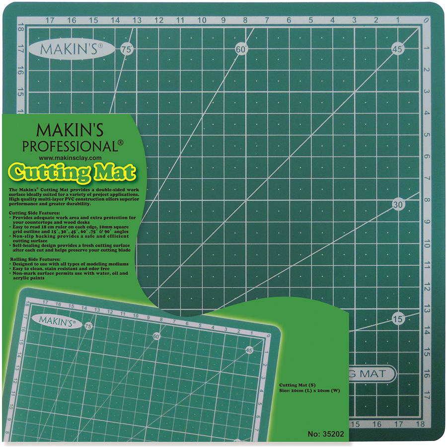 "Makin's Clay Cutting Mat, 7.87"" x 7.87"", Small"