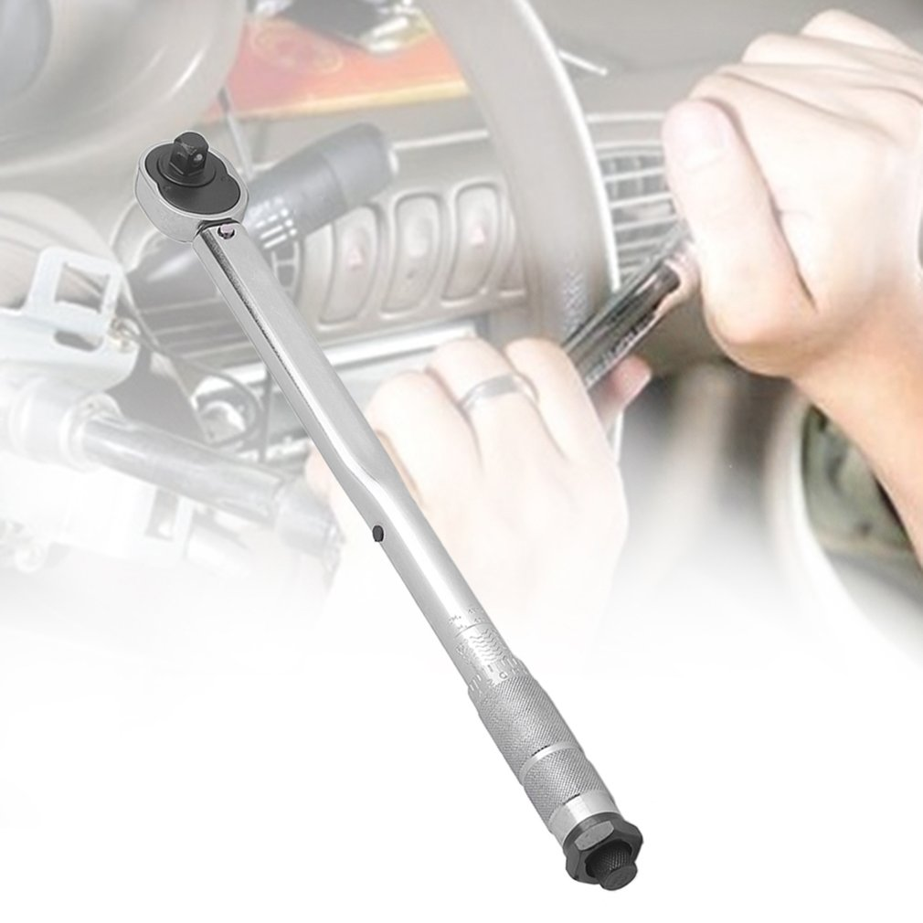 "Professional and Durable 1/2"" Drive Click Type Torque Wrench with Hard Case"