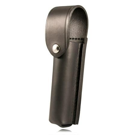 Boston Leather 5560-2 Top Flap Stinger Flashlight Holder, Black, Gloss Finish