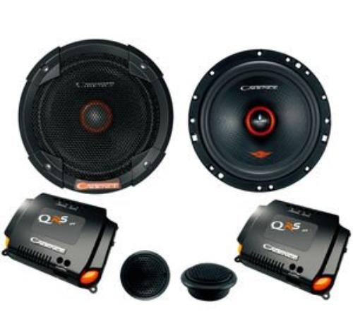 """QRS6K2 - Cadence 6.5"""" 85W RMS QRS Series 2-Way Component Speakers System"""