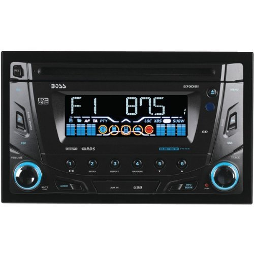 Boss Audio 870DBI Bluetooth Double DVD Receiver
